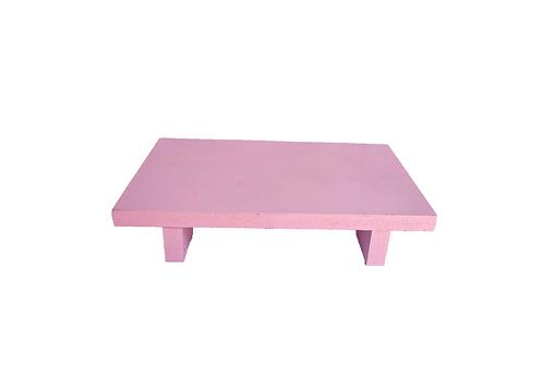 Bandeja rosa madeira