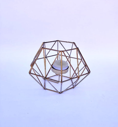 Porta vela geométrico P