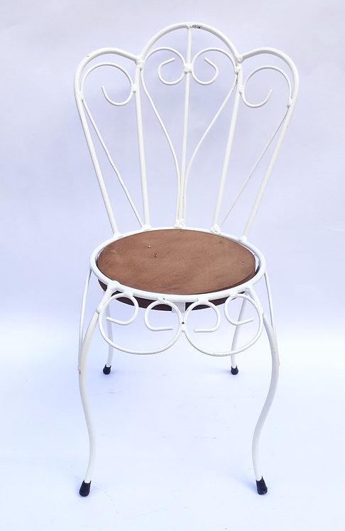 Cadeira decorativa branca