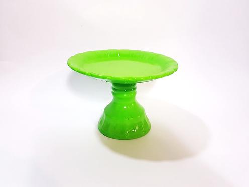 Prato suspenso verde limão - M