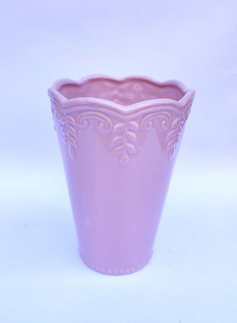 Vaso rosa M