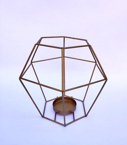 Porta vela geométrico G