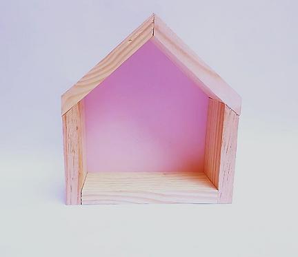 Nicho casinha rosa
