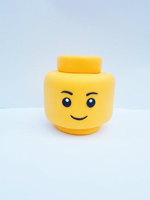 Cabeça Lego