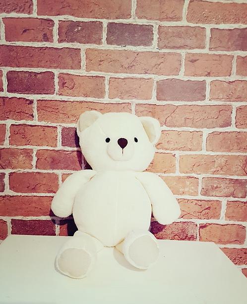 Urso pelúcia branco