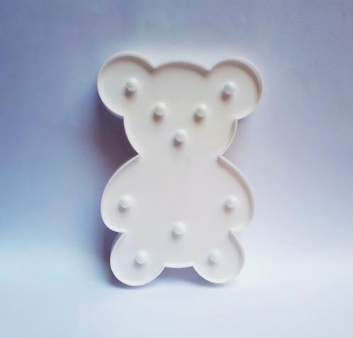 Luminoso ursinho branco