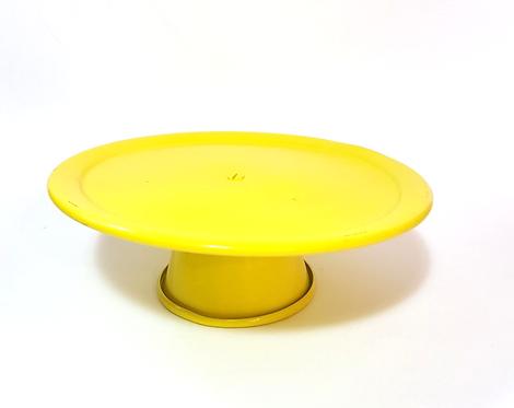 Prato suspenso amarelo - P