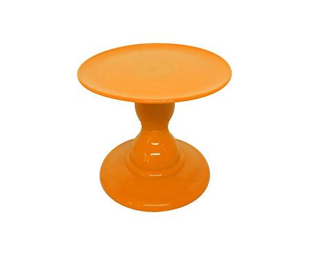 Prato suspenso laranja (Alt. P)