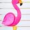 Thumbnail: Flamingos para painel