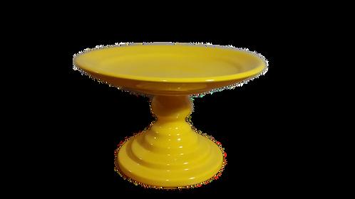 Prato suspenso amarelo - M