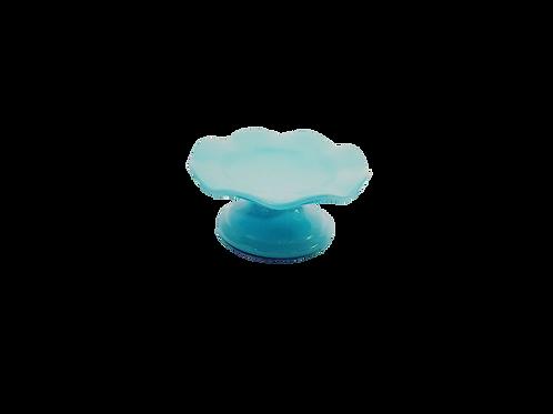 Prato suspenso azul - P