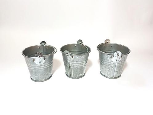 Trio mini baldinhos