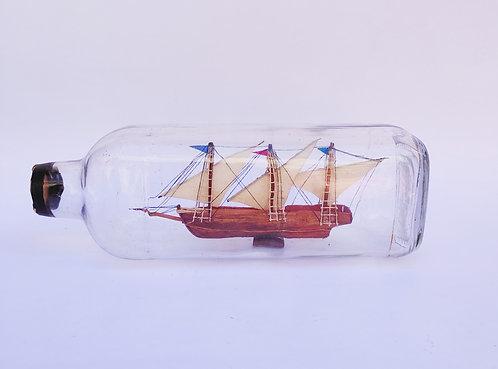 Barco na garrafa