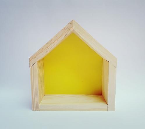 Nicho casinha amarelo