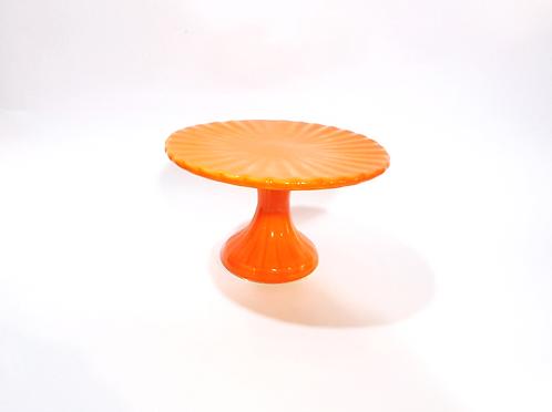 Prato suspenso laranja frisos - M