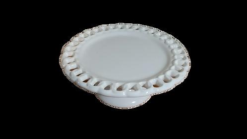 Prato suspenso branco (elos) - M