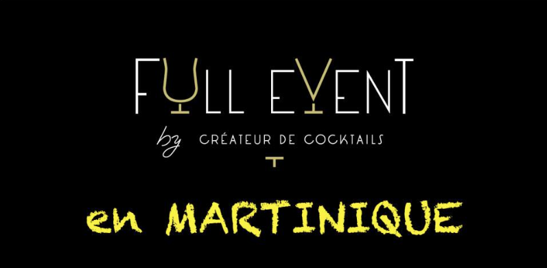 cocktails, martinique, full event