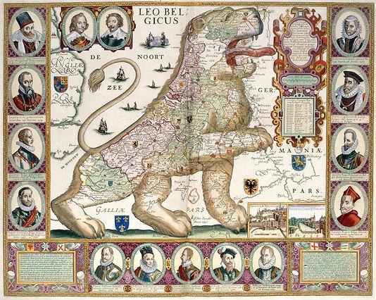 Leo_Belgicus_-_C.J._Visscher_(1650),_6_-