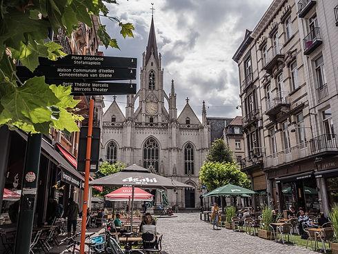 Brüssel IxellesElsene Place Saint-Boniface - copyright Jean-Paul Remy