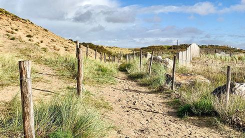 Opalküste - die Dünen von Blériot-Plage.