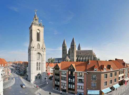 Tournai Belfried Kathedrale copyright vi