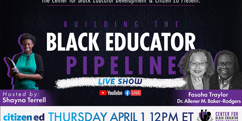 Who Carried Us - Black Women Who Built the Black Teacher Pipeline