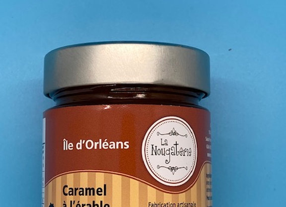 Pot de caramel à l'érable