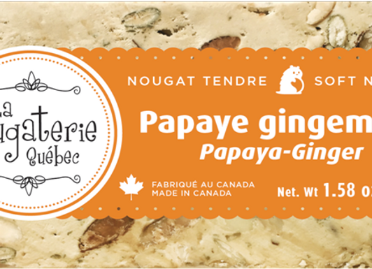 Papaye Gingembre / papaya ginger