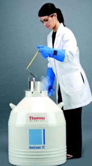 ThermoFisherScientific社,生物試料,保存用,液体窒素容器,バイオケーン