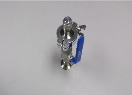液体ヘリウム容器,関連,アクセサリー,バルブ付容器ヘッド