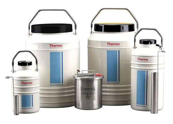 ThermoFisherScientific社,生物試料,移動用,液体窒素容器,ドライシッパー