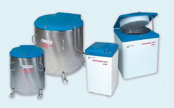 AIR LIQUIDE社,液体窒素凍結容器,大型凍結保存容器,ESPACE