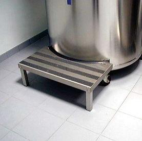 踏み台,AIR LIQUIDE社,液体窒素凍結容器,大型凍結保存容器,ESPACE