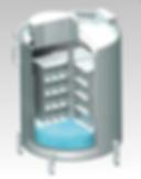 AIR LIQUIDE社,気相,液体窒素凍結容器,大型凍結保存容器,RCB