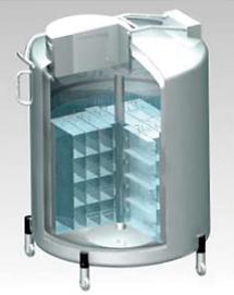 AIR LIQUIDE社,液相,液体窒素凍結容器,大型凍結保存容器,RCB