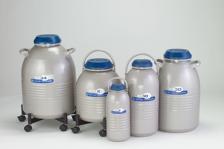 凍結試料保存容器.長期保存用,液体窒素容器,ケーン収納