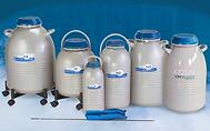 液体窒素凍結容器,試料保存用,小型,ケーン収納