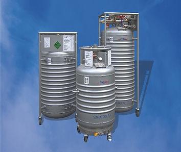 Cryotherm社,液体ヘリウム容器,ヘリオス,ストラトス