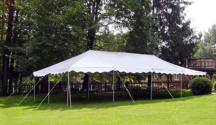 All purpose canopy tent, all purpose canopy tent rent, large outdoor tent rent, backyard tent rent, 12 post tent rental, fiesta tent rent, center pole tent rental, fiesta all purpose tent rental