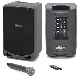 Samson XP106 PA System