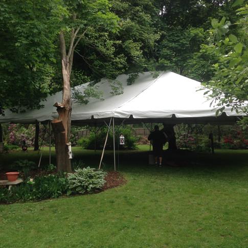 backyard DIY canopy