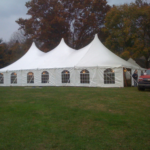 pole tent with all options