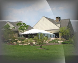 County club outdoor Awards Tent