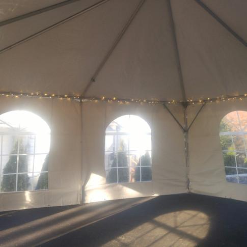 inside tent lighting