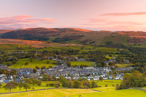 Sedbergh is a small town and civil paris