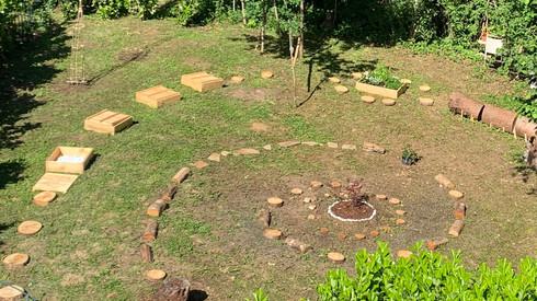 Le jardin de Pousse de Yogi