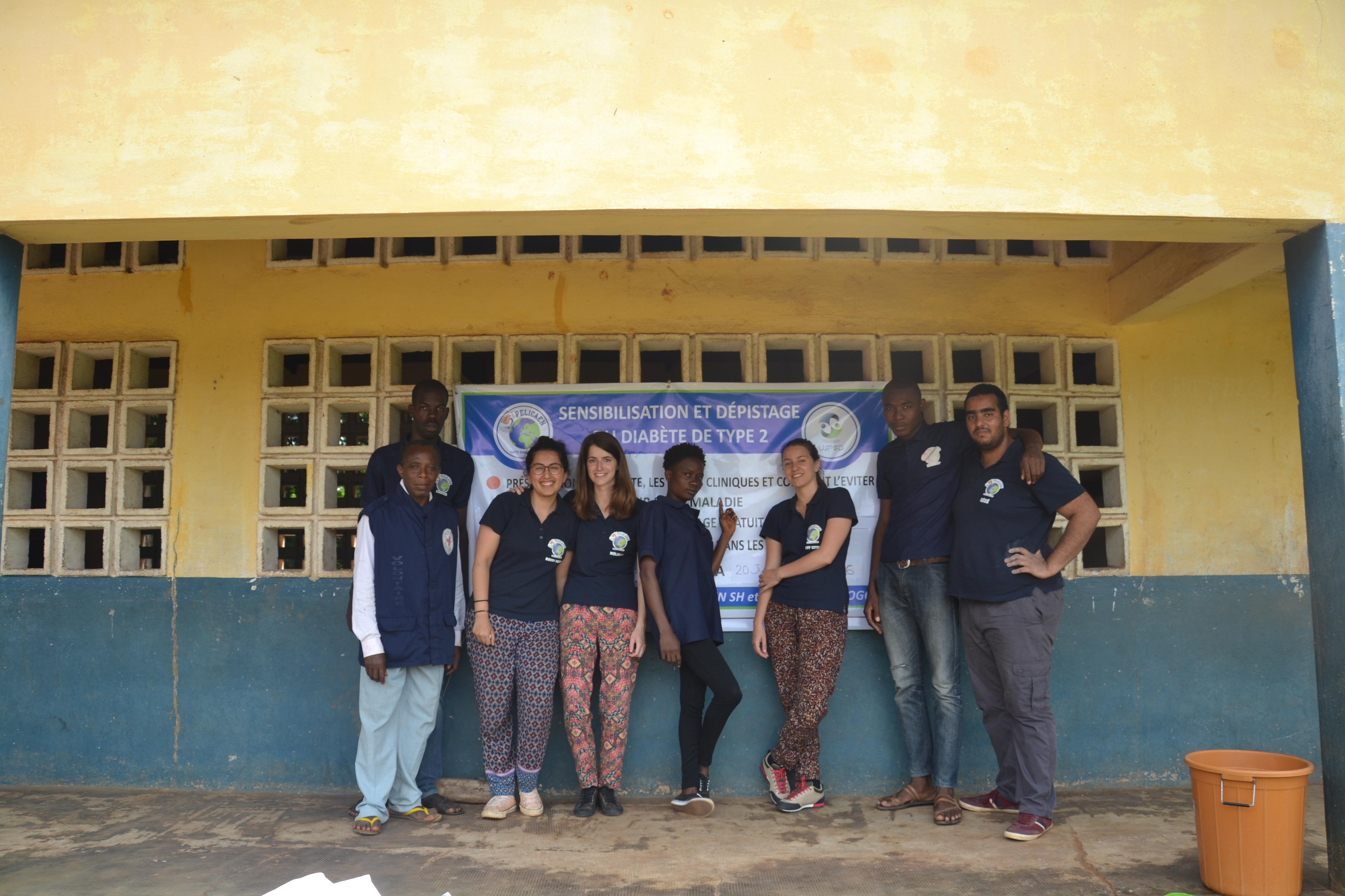 Equipe diabète Togo 2016