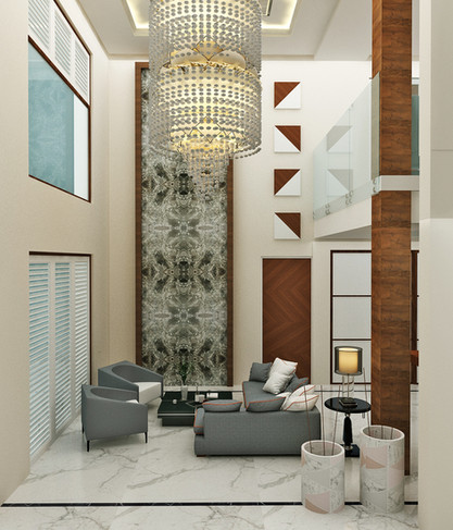 Luxury Interior for Penthouse