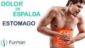 Dolor de espalda por problemas de estómago