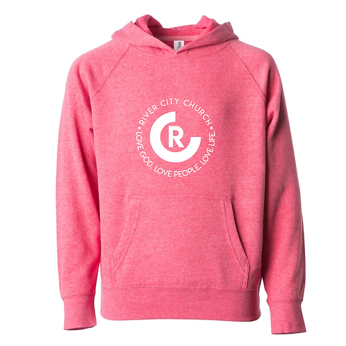 Youth Lightweight Hooded Pullover